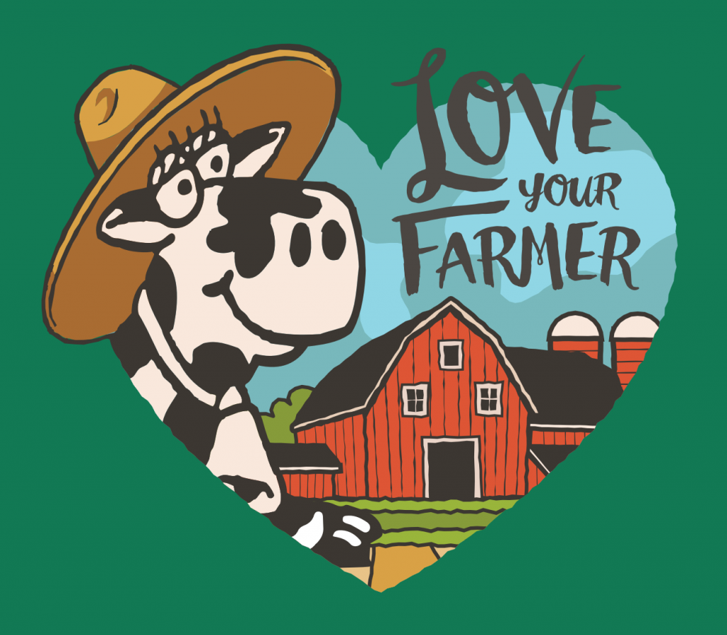 Love Your Farmer theme graphic