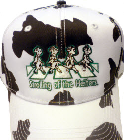 Cow Print Ball Cap