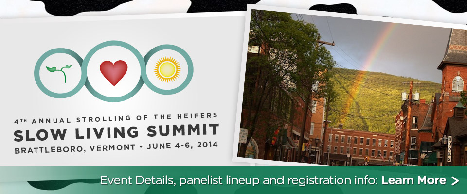 Slow Living Summit 2014: June 4-6