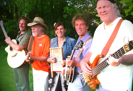 Bondville Boys in concert/dance at the River Garden