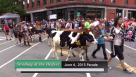 2015 Strolling of the Heifers Parade video by BCTV