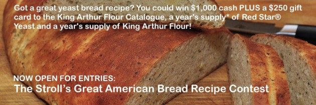 The Stroll's Great American Bread Recipe Contest