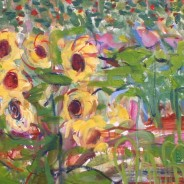 """July exhibit: """"Into Nature/Contemporary Landscapes by Janet Picard"""