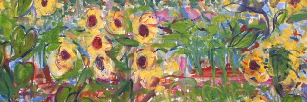 "July exhibit: ""Into Nature/Contemporary Landscapes by Janet Picard"