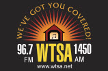 WTSA 1450 AM and 96.7 FM