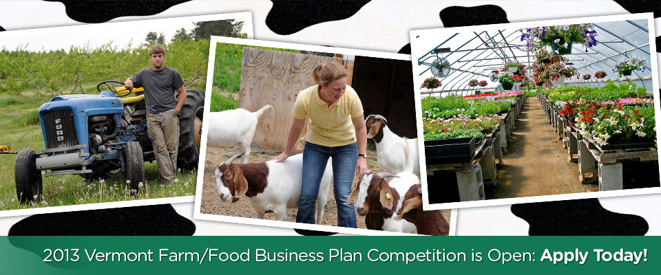 2013 Vermont Farm/Food Business Plan Competition