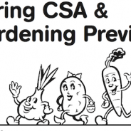Spring CSA, Farming and Gardening Showcase