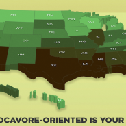 Strolling of the Heifers 2015 Locavore Index: Which states are most committed to locally-sourced food?