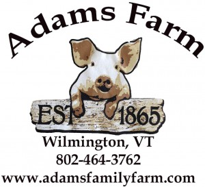 "Adams Farm is a true working farm, and refer to ourselves as a ""circle of life farm"". Our animals are humanely raised without antibiotics or hormones for their meat on our 130 acres. Being a true working farm, we want our guests to visit, interact, and learn about farm life and farm animals.  There are many ways to experience the farm- hope you come visit us for a unique experience!"