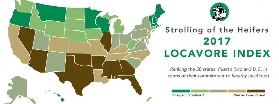 How Locavore is your state?