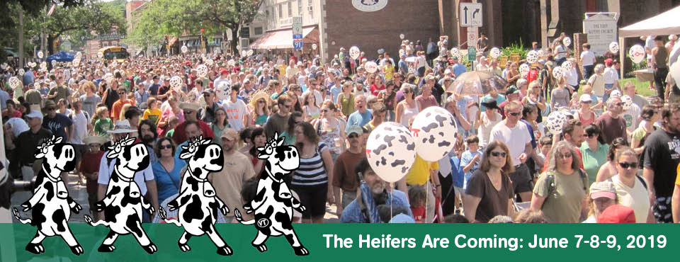 Strolling of the Heifers Parade