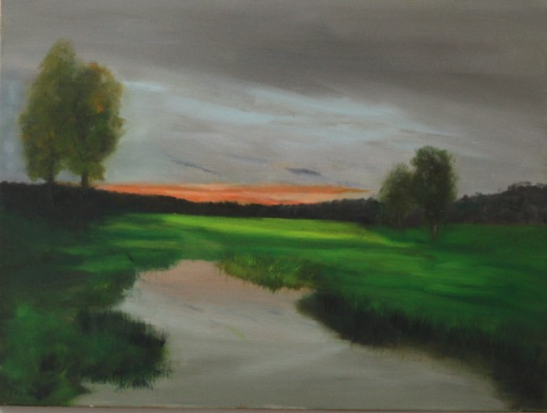 Green Meadow 18x24