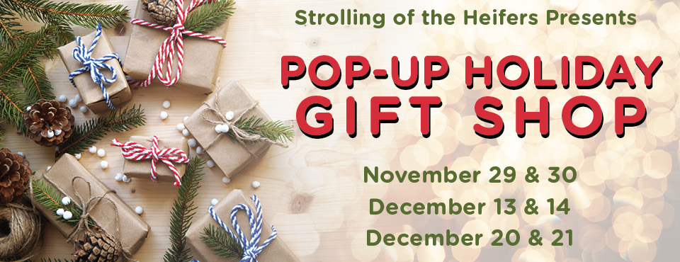 Pop-up Holiday Gift Shop