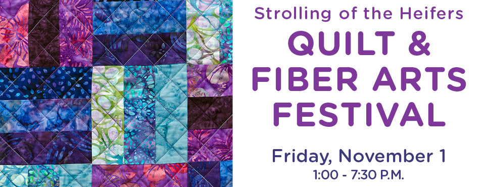 Quilt & Fiber Arts Festival – Gallery Wall Hanging Instructions