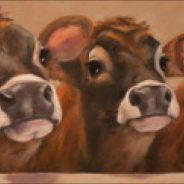 November Gallery at the Garden presents: Farm and Field, Paintings by Caryn King and Kristina Wentzell