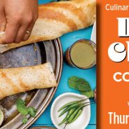 Culinary Classes at the River Garden: Dosa and Chutney