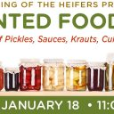 Fermented Food Fair – January 18, 2020