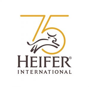 Heifer International's mission is to end hunger and poverty while caring for the Earth. For 75 years, we have provided livestock and environmentally sound agricultural training to improve the lives of those who struggle daily for reliable sources of food and income. We currently work in 20 countries, including the United States, to help families and communities become self-reliant. Our goal is to help families achieve living incomes, which will allow them to feed their families daily; educate all their children; and have proper housing, water, hygiene and other essential resources. 