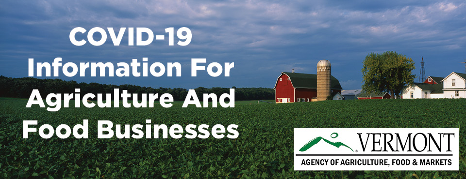 Up-To-Date COVID-19 Information for Farm & Food Businesses